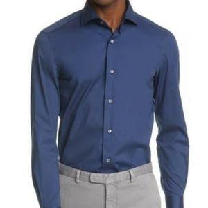 Boglioli ButtonUp Long Sleeve Dress Shirt Size 39